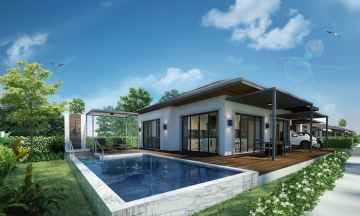 New Private Tropical Modern Villas price Start only 11.7 MB