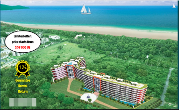 New Affordable Condo Mai Khao Beach for Presale Price start 1.9 MB Phuket