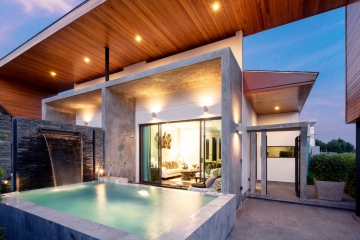 Private pool villas 2-3 bedroom , finishing with high quality touch in Modern Style at Phuket