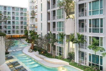 Condo Near Central Festival Phuket for rent 1 bedroom 1 bathroom, area 34 sqm.